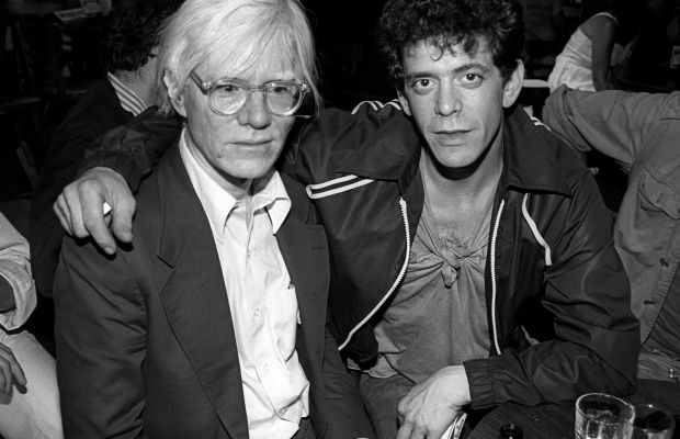"""Andy Warhol: Lou Reed formed the Velvet Underground and within two years, Andy Warhol became the band's manager. Under Andy's wing, The Velvet Underground became one of the most influential musical acts of all time. Years later, Reed composed a musical based on Warhol's book, """"The Philosophy of Andy Warhol."""" Herecalled that the songs """"fascinated, but horrified"""" Warhol."""