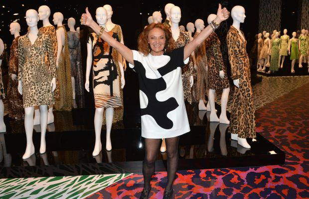 Diane Von Furstenberg Wrap Dress Exhibit Photo