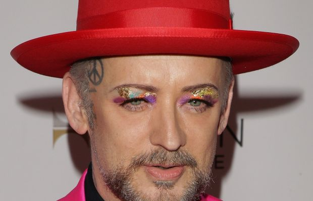 Make-Up Artist: Boy George knows how to keep things colorful. (Photo: Getty Images)