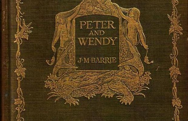 Peter Pan Book Cover 1911 Photo