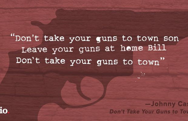 Johnny Cash Don't Take Your Guns to Town