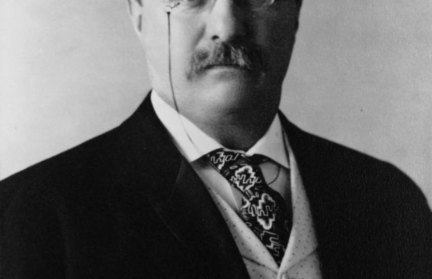 """Boxing fan President Theodore Roosevelt considered his friend John L. Sullivan """"as game and straight and honest a fighter as ever stepped in the ring."""" (Photo: Pach Brothers [Public domain], via Wikimedia Commons)"""