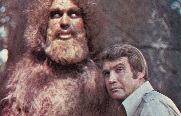 Andre the Giant Lee Majors Photo