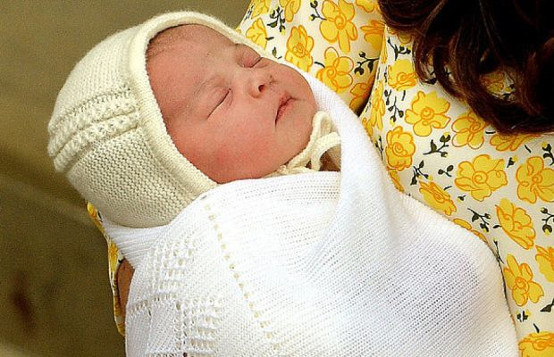"""Princess Charlotte is fourth in line to the throne, the """"spare"""" to the """"heir,"""" after her big brother Prince George."""