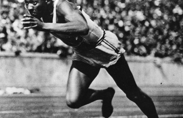 Jesse Owens won four gold medals in the 1936 Olympics. (Photo: Hulton Archive/Getty Images)