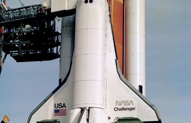 Space Shuttle Challenger Photo