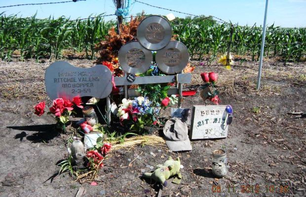 The Day the Music Died Memorial Photo