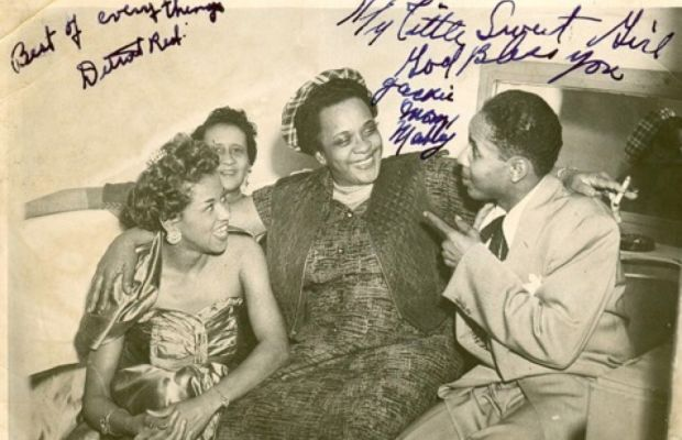 Rose Marie McCoy and Moms Mabley Photo
