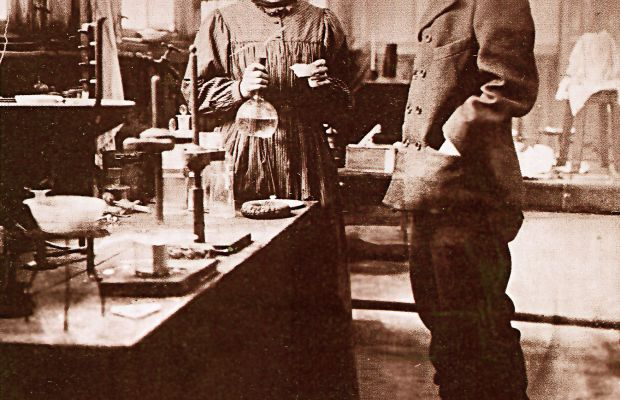 Marie and Pierre Curie Photo