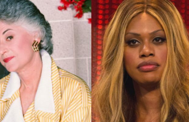 Bea Arthur Photo By Getty Laverne Cox Photo By Dominick D Via Wikimedia Commons