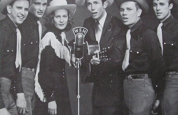 Hank and Audrey Williams and the Drifting Cowboys Photo Courtesy MGM Records via Wikimedia Commons