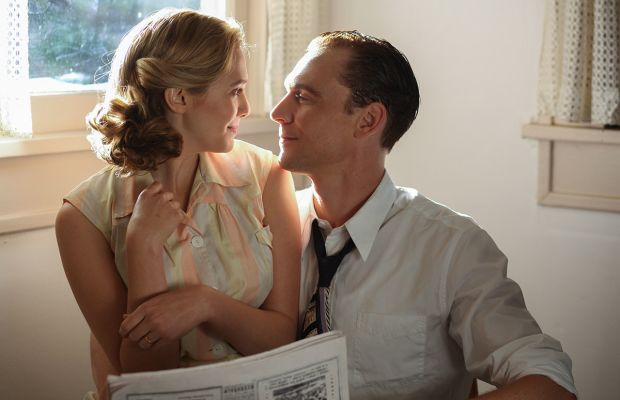 """Elizabeth Olsen Tom Hiddleston in """"I Saw the Light"""" Photo Courtesy of Sony Pictures Classics"""