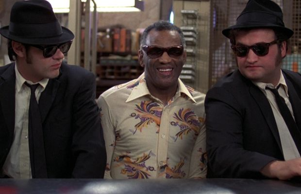 Dan Aykroyd Ray Charles John Belushi in The Blues Brothers Photo Courtesy Universal Pictures Home Entertainment