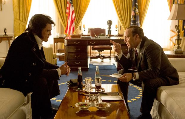 Michael Shannon and Kevin Spacey in Elvis & Nixon Photo Courtesy Tribeca Film Festival