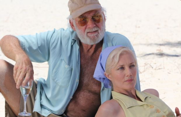 Adrian Sparks and Joely Richardson in Papa Hemingway in Cuba Courtesy Yari Film Group