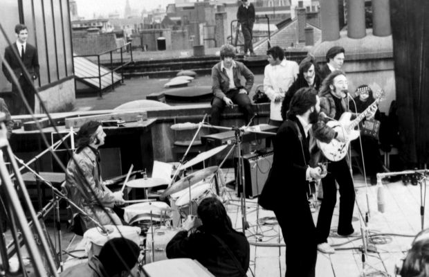 The Beatles Apple Rooftop Concert January 1969 Photo AKG Images