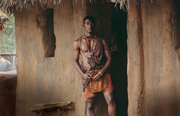 Malachi Kirby in Roots Photo By Steve Dietl/©History 2016
