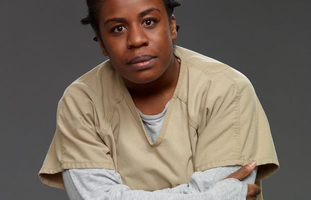 "Uzo Aduba plays Crazy Eyes on the Netflix series ""Orange is the New Black."" (Photo: Courtesy Lionsgate)"