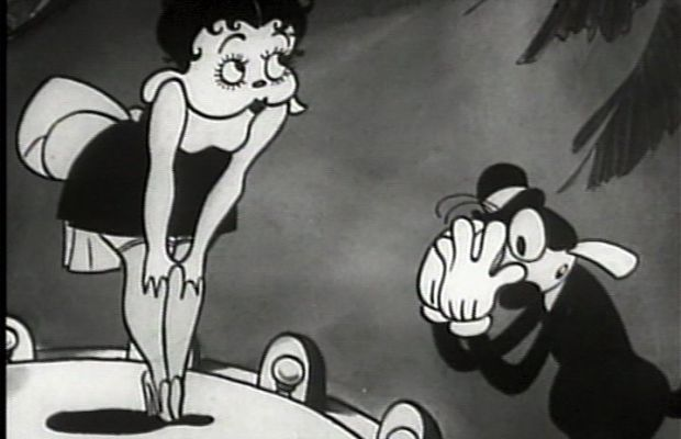 """Betty made her first appearance in the 1930 Bimbo cartoon """"Dizzy Dishes"""" as a sexy canine with long floppy ears."""