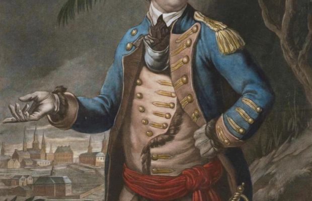 Benedict Arnold Painting By Thomas Hart, Public Domain via Wikimedia Commons