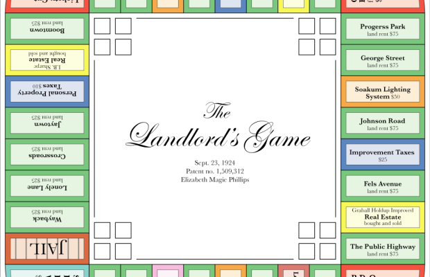Landlord's Game Lizzie Magie Photo