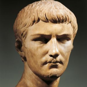 a biography of caligula the emperor of rome Tiberius had waited a long time to be emperor and had made many cut off from rome almost completely, only sejanus was allowed to visit appeared ready to seize power for himself, it went horribly wrong in 31 ad, tiberius turned against him in favor of caligula, the only surviving son.