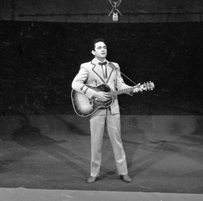 Johnny Cash Performs On ''The Ed Sullivan Show''