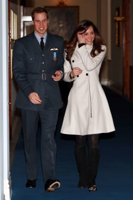 Royals Attend Prince William's Graduation Ceremony at RAF Cranwell