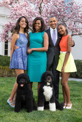 President_Barack_Obama,_First_Lady_Michelle_Obama,_and_daughters_Malia_and_Sasha_pose_for_a_family_portrait_with_Bo_and_Sunny_in_the_Rose_Garden_of_the_White_House_Pete_Souza_wikimedia_commons.jpg