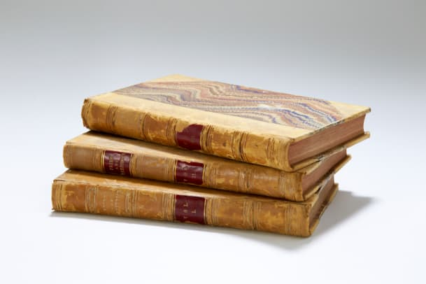 First Edition Pride and Prejudice set (credit Peter Smith, ©Jane Austen's House Museum)