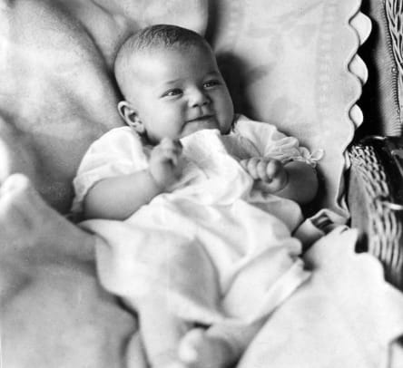 Doris Day poses for a portrait as a baby in 1922. (Photo by Michael Ochs Archives:Getty Images)