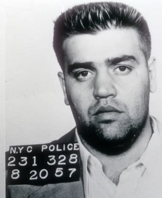 Vincent _Chin_ Gigante is arrested August 20, 1957 in New York City. (Photo by Getty Images)