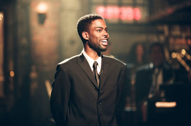 Chris Rock during the Saturday Night Live 25 special -- (Photo byNBC:NBCU Photo Bank via Getty Images)