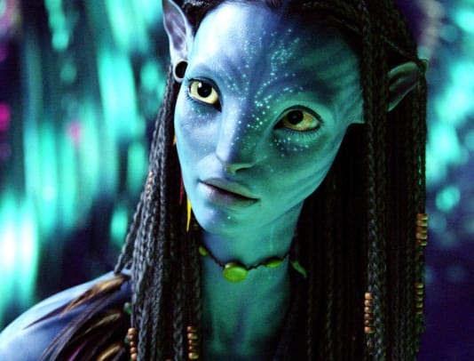 AVATAR, Zoe Saldana, 2009, TM & Copyright ©20th Century Fox. All rights reserved:Courtesy Everett Collection