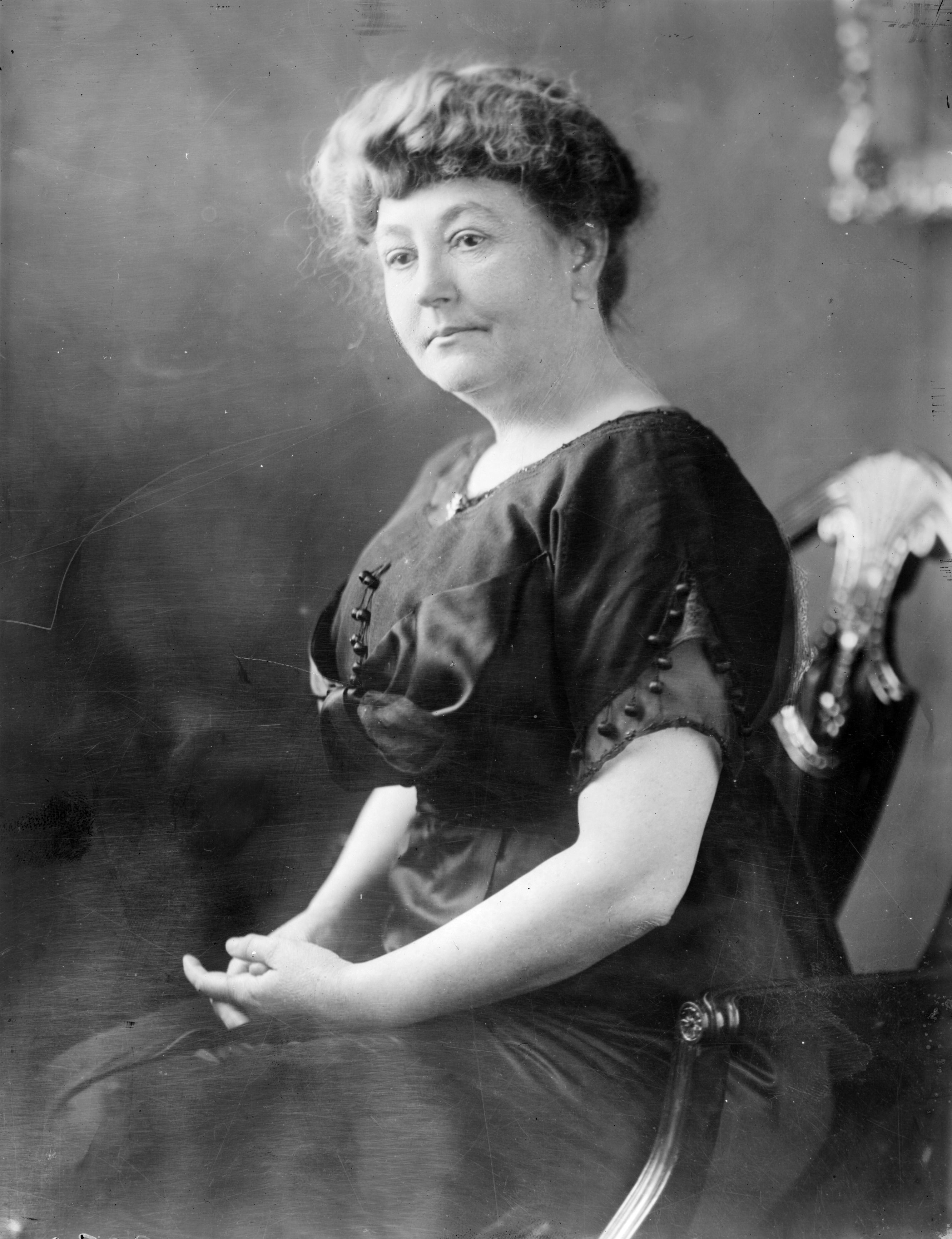 Causes of the First Ladies: Ellen Wilson was the first president's wife to support a cause that resulted in legislation. After touring the capital's slums, she lobbied to establish better housing for the poor. Just before her death in 1914, Congress passed the Alley Dwelling Bill. (Topical Press Agency/Getty Images)