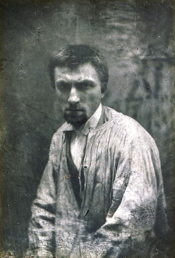 Auguste Rodin Young Photo