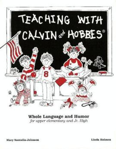 Calvin and Hobbes Textbook Photo