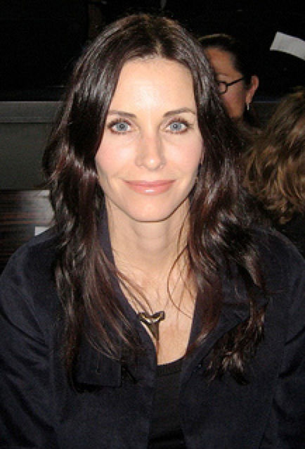 Courteney Cox Photo by Felicia C. Sullivan Wikimedia Commons