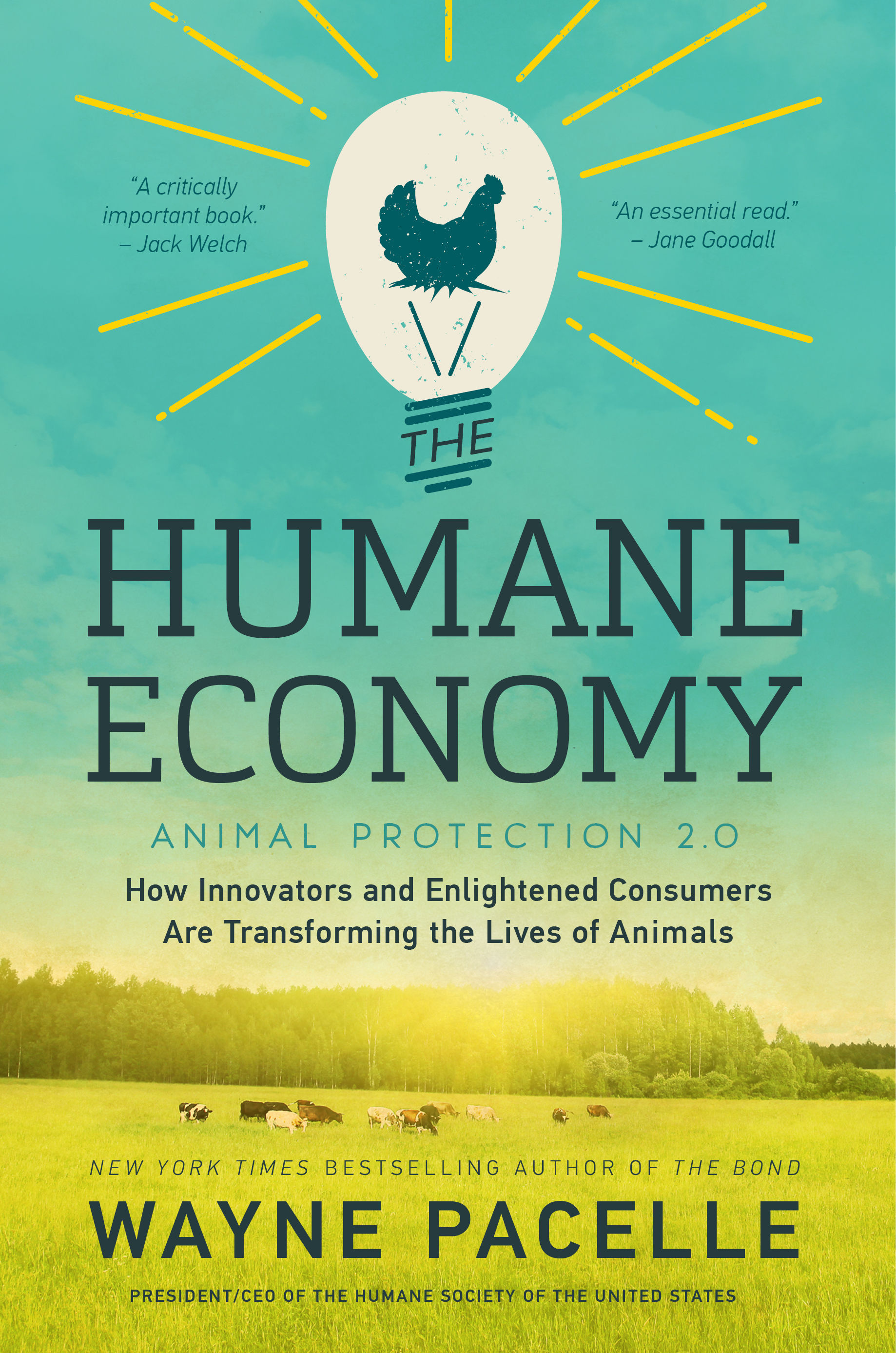 The Humane Economy Book Cover Courtesy The HSUS