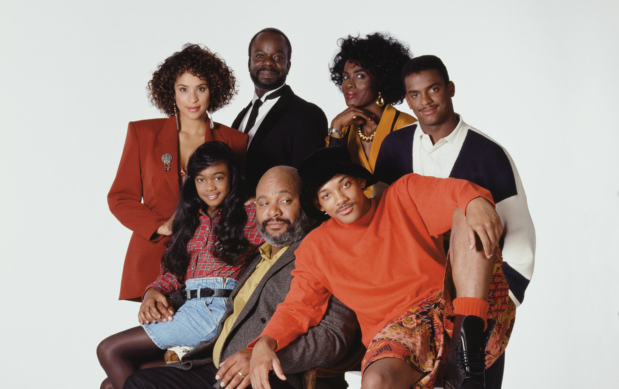 The Fresh Prince of Bel Air Cast Photo