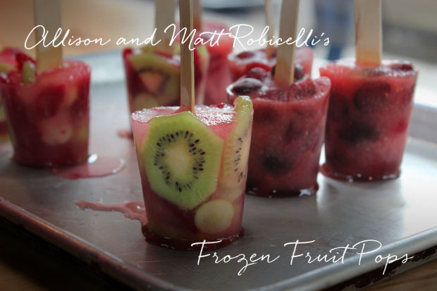 Allison and Matt Robicelli's frozen fruit pops are an easy fix for a ...