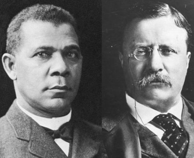 booker t washington and w e Ver vídeo read about the rivalry between web du bois and booker t washington and how their clashing ideologies helped lead to the birth of.