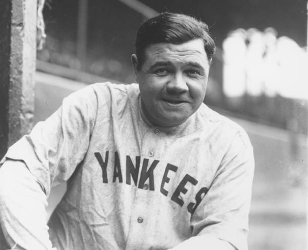 the statistics of babe ruths figures as a distance hitter Ted discusses his new book where he ranks the top 20 hitters of all time  using obp and slg% he ranks ruth number 1.