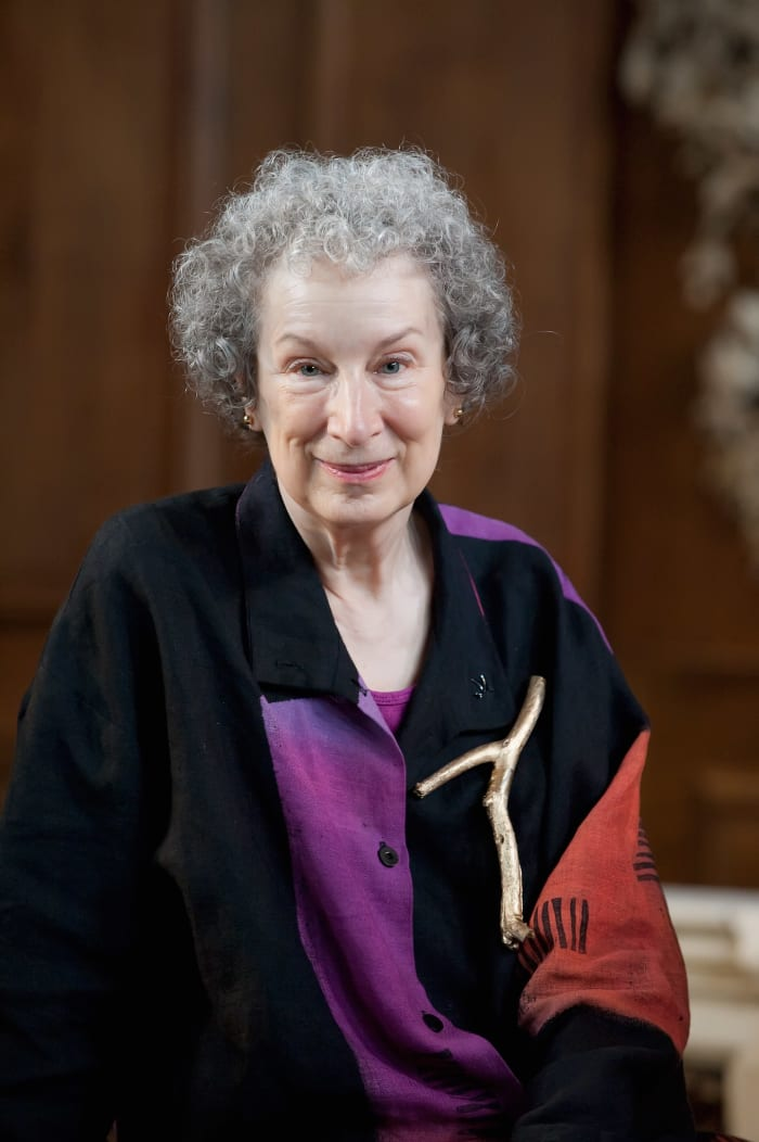 figurative language in margaret atwood s the Figurative language was used by margaret atwood, through the persona of offred, to illustrate the handmaid's tale figurative language consists of similes, metaphors, personification, alliteration, onomatopoeia, hyperbole and idioms first, figurative language can be used to describe different.