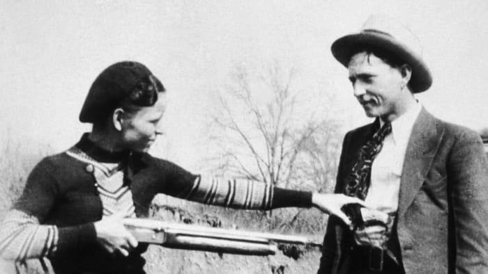 Bonnie and Clyde - Lovers on the Lam