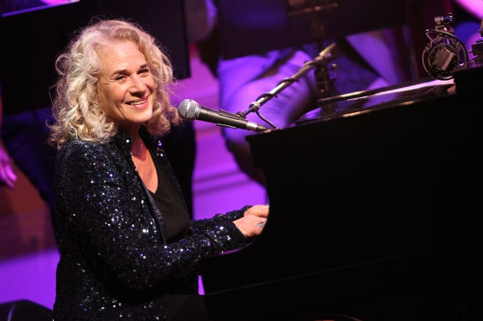 Carole King performs at the 2013 Library Of Congress Gershwin Prize Tribute Concert at the Thomas Jefferson Building on May 21, 2013, in Washington, D.C.