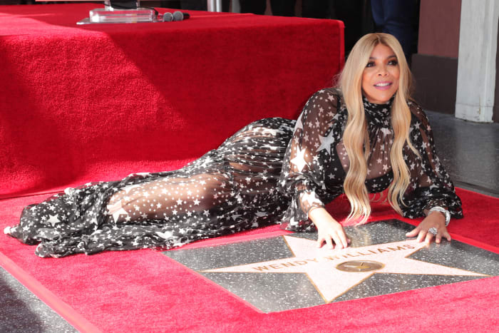 Wendy Williams is honored with a star on the Hollywood Walk Of Fame on October 17, 2019, in Hollywood, California