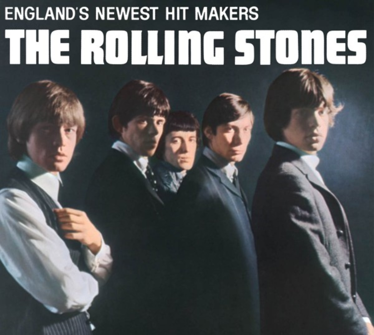 Rolling Stones 1964 Album Cover Photo