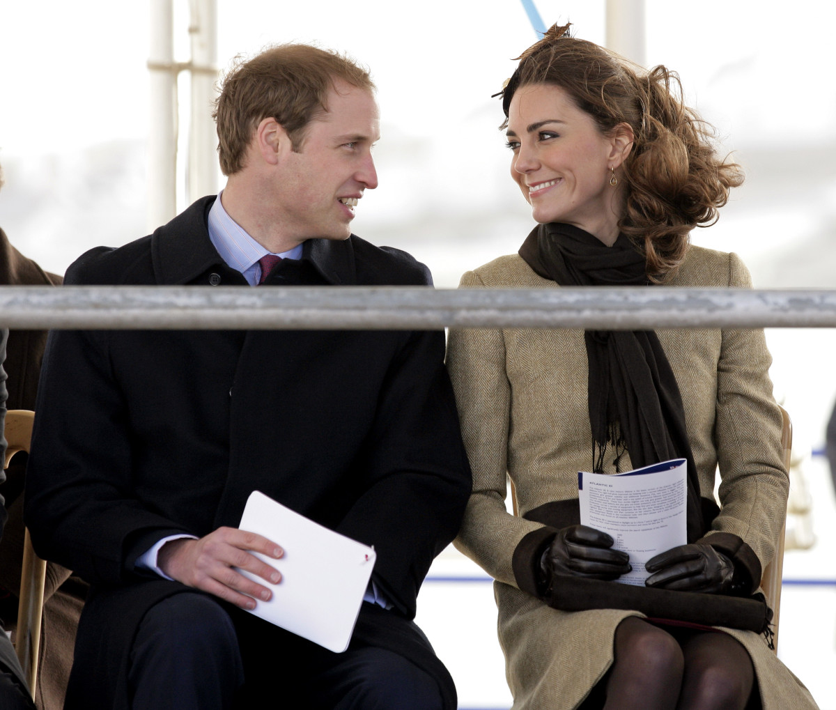 Will and Kate: The couple a few months before their wedding continue to look smitten. (Photo by Indigo) (Photo: Getty Images)