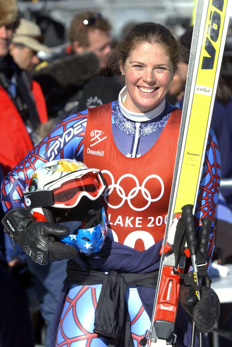 olympic skiers biography